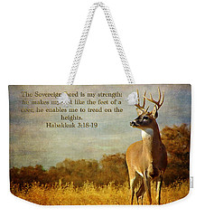Reflecting His Glory Weekender Tote Bag