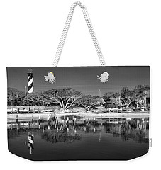 Reflecting Lighthouse  Weekender Tote Bag