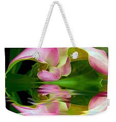 Reflecting Lily Weekender Tote Bag