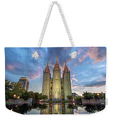 Reflecting On Faith Weekender Tote Bag