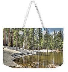reflecting pond 2 Carson Spur Weekender Tote Bag