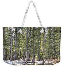 reflecting pond 4 Carson Spur Weekender Tote Bag