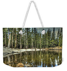 reflecting pond Carson Spur Weekender Tote Bag