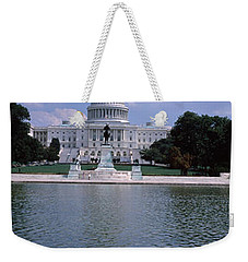 Reflecting Pool With A Government Weekender Tote Bag by Panoramic Images