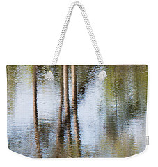 Reflection Abstract Weekender Tote Bag by Arlene Carmel