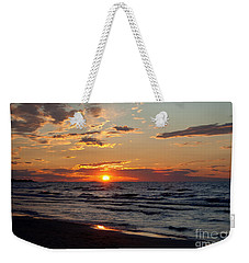 Weekender Tote Bag featuring the photograph Reflection by Barbara McMahon