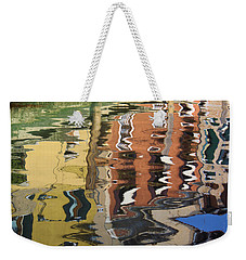 Reflection In A Venician Canal Weekender Tote Bag
