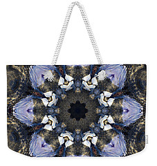 Reflection  Kaleidoscope Weekender Tote Bag by Jordan Blackstone