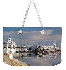Weekender Tote Bag featuring the photograph Reflection by Leticia Latocki