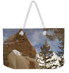 Upon Reflection Weekender Tote Bag by Michelle Twohig