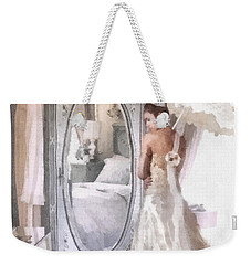Reflection Weekender Tote Bag by Mo T