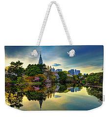 Reflection Of Spring Weekender Tote Bag