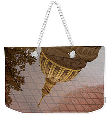 reflection of WV Weekender Tote Bag by Shane Holsclaw
