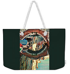 Reflection-venice Italy Weekender Tote Bag
