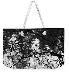 Weekender Tote Bag featuring the photograph Reflection by Yulia Kazansky