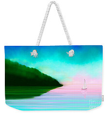 Reflections Weekender Tote Bag by Anita Lewis