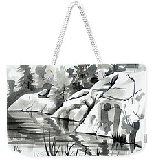 Reflections At Elephant Rocks State Park No I102 Weekender Tote Bag