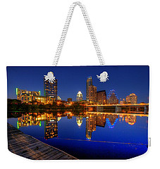 Reflections Weekender Tote Bag by Dave Files