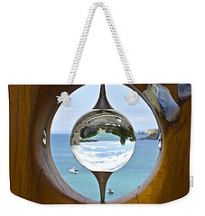 Reflections In A Glass Ball Weekender Tote Bag