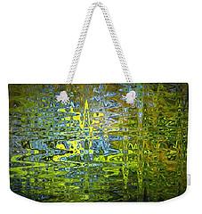 Reflections In Millard Creek Weekender Tote Bag by Richard Farrington