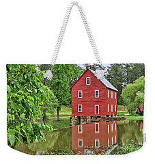 Reflections Of A Retired Grist Mill Weekender Tote Bag by Gordon Elwell