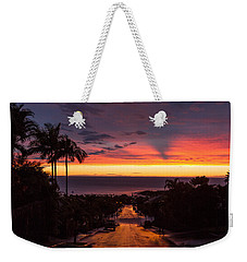 Sunset After Rain Weekender Tote Bag by Denise Bird
