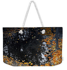 Reflections Of Autumn Weekender Tote Bag by Photographic Arts And Design Studio