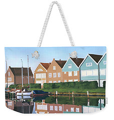 Weekender Tote Bag featuring the painting Reflections Of Holland by Lynne Reichhart