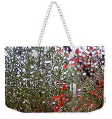 Reflections Of Rain Weekender Tote Bag