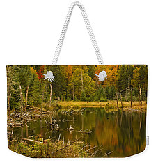 Reflections Of The Fall Weekender Tote Bag