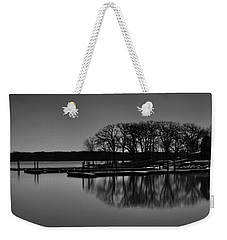 Reflections Of Water Weekender Tote Bag by Miguel Winterpacht