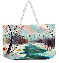 Reflections Of Worship Weekender Tote Bag