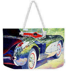Reflections On A Corvette Weekender Tote Bag