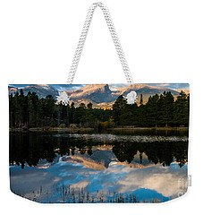 Reflections On A Lake 3 Weekender Tote Bag by Anne Rodkin