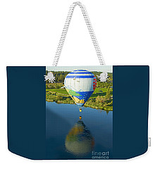 Reflections Over The Dechutes Weekender Tote Bag