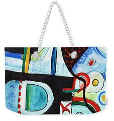 Reflective #7 Weekender Tote Bag