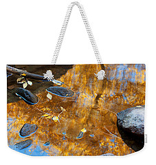 Weekender Tote Bag featuring the photograph The Melting Pot by Jim Garrison