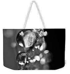 Reflective Rain Weekender Tote Bag by Cheryl Baxter