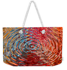 Refraction Abstraction Weekender Tote Bag by Andrea Auletta