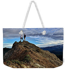 Weekender Tote Bag featuring the photograph Reg 1 by Benjamin Yeager