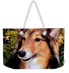 Regal Shelter Dog Weekender Tote Bag
