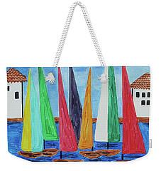 Regatta Weekender Tote Bag