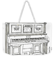 Regina Player Piano Weekender Tote Bag