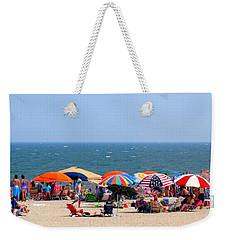 Rehobath Beach Delaware Weekender Tote Bag by Patti Whitten