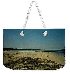 Weekender Tote Bag featuring the photograph Rehoboth Bay Beach by Amazing Photographs AKA Christian Wilson