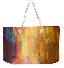 Reigning Light - Abstract Art Weekender Tote Bag