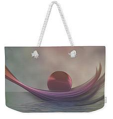 Weekender Tote Bag featuring the digital art Relax by Gabiw Art