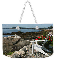 Relaxing Afternoon Weekender Tote Bag by Mariarosa Rockefeller