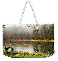Weekender Tote Bag featuring the photograph Relaxing Autumn Beauty Landscape by Christina Rollo