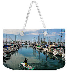 Weekender Tote Bag featuring the photograph Relaxing Day by Tammy Espino